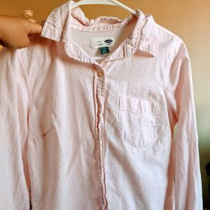 Long Sleeve Classic Old Navy Button Up
